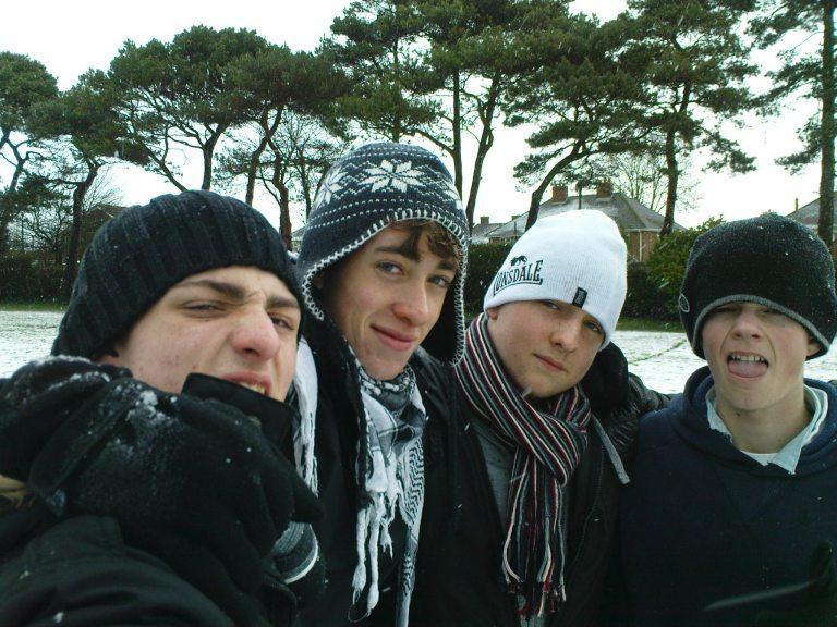 194. Me, James, Liam and Dan